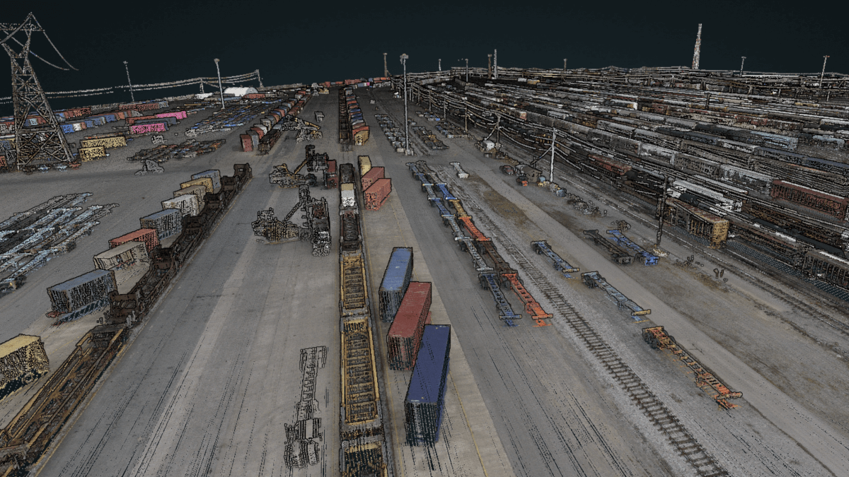 LiDAR Railway Image